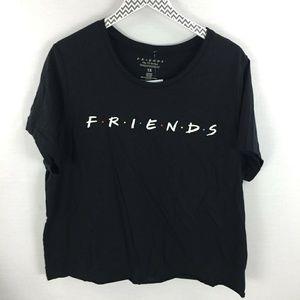 Friends TV Series cutoff shirt 1x Rachael ross